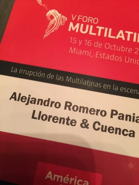 Multilatina V Foro LL&C